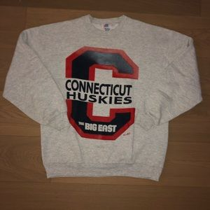 🔥90s UConn Huskies Sweatshirt